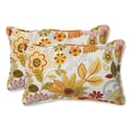 Pillow Perfect 'Gaya Multi' Rectangular Outdoor Throw Pillow (Set of 2)