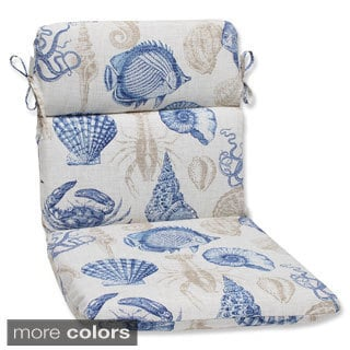 Pillow Perfect 'Sealife' Rounded Corners Outdoor Chair Cushion