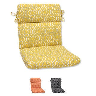 Pillow Perfect 'Starlet' Rounded Corners Outdoor Chair Cushion