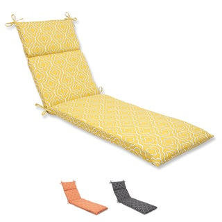 Pillow Perfect 'Starlet' Outdoor Chaise Lounge Cushion