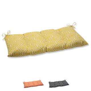 Pillow Perfect 'Starlet' Outdoor Wrought Iron Loveseat Cushion