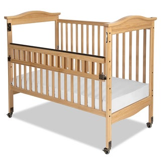 Kingswood Professional Child Care SafeAccess Clearview Full-Size Crib in Natural