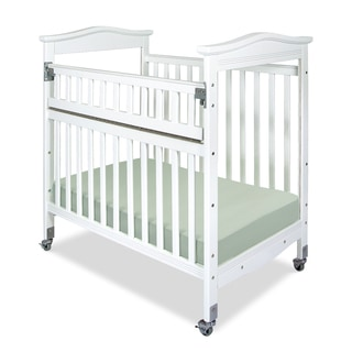 Kingswood Professional Child Care SafeAccess Clearview Ends Compact Crib in White
