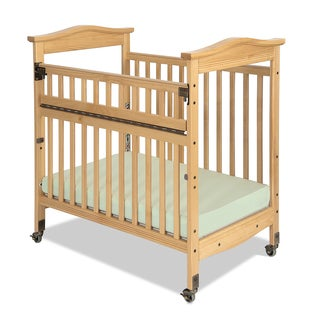 Kingswood Professional Child Care SafeAccess Clearview Compact Crib in Natural