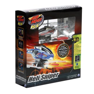 Spin Master RC Air Hogs Velocity Sniper Indoor Helicopter Toy