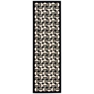 Joseph Abboud Griffith Onyx Area Rug by Nourison (2'3 x 7'5)