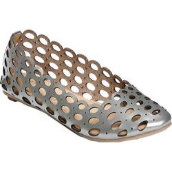 Women's Footzyfolds Halllie Silver Metallic