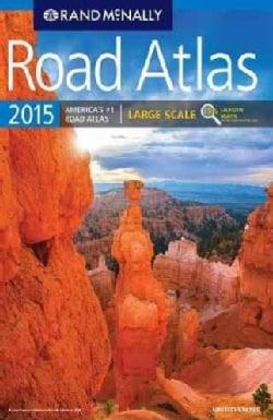 Rand McNally 2015 Road Atlas United States: Large Scale (Paperback)