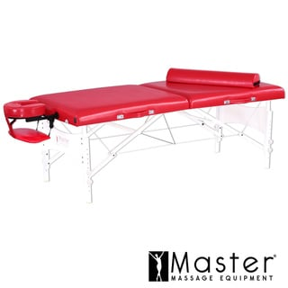 Master Massage 30-inch Valentine LX Memory Foam Massage Table Package