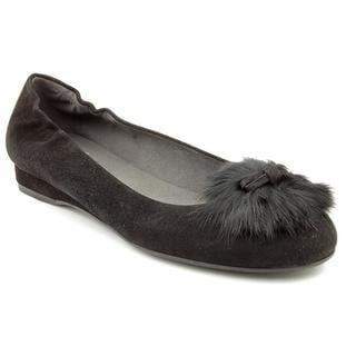 Stuart Weitzman Women's 'Furball' Regular Suede Casual Shoes (Size 6.5 )