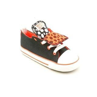 Converse Girl (Toddler) 'CT Double Tongue Ox ' Basic Textile Athletic Shoe