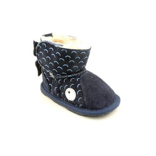Emu Australia Boy (Infant) 'Little Creature Walker Whale' Regular Suede Boots