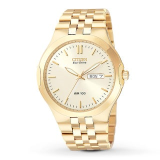 Citizen Men's 'Corso' Eco-Drive Gold-Tone Watch