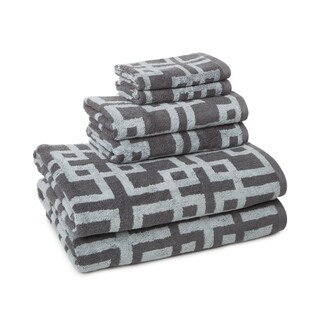 100-Percent Cotton Chippendale 6-piece Towel Set