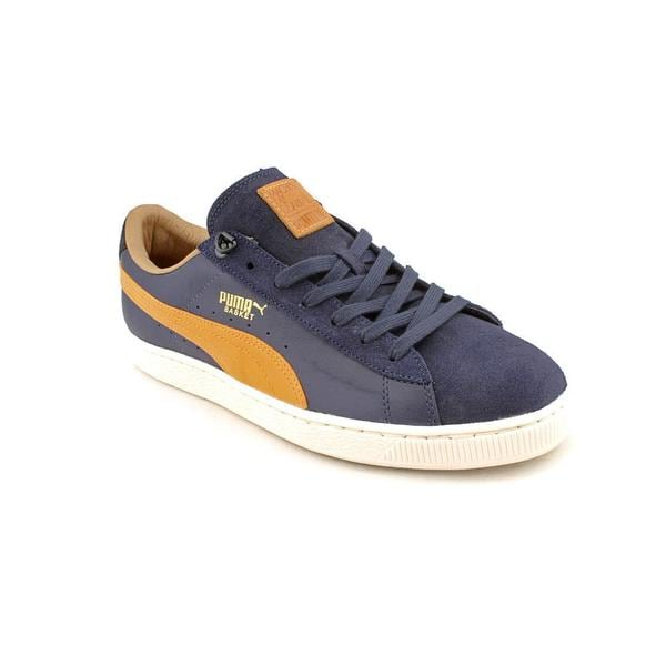 Puma Men's 'Basket Classic MMQ' Leather Athletic Shoe - Narrow