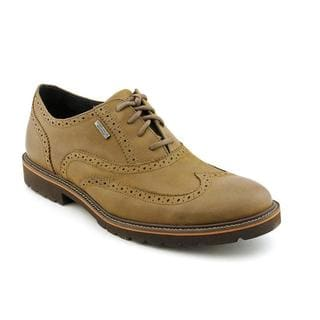 Rockport Men's 'Ledge Hill WP Wingtip' Leather Dress Shoes - Wide