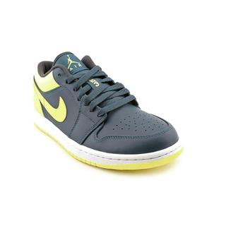 Nike Men's 'Air Jordan 1 Low' Leather Athletic Shoe