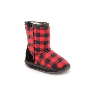 Emu Australia Boy (Toddler) 'Lumberjack' Synthetic Boots