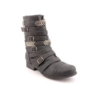 Madden Girl Women's 'Georgie' Faux Leather Boots