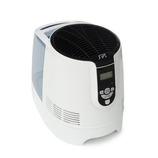 SPT Black/ White Digital Evaporative Humidifier