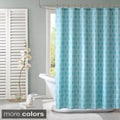 ID Lexie Modern Geometric Shower Curtain