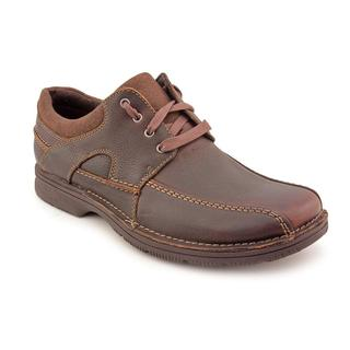 Clarks Men's 'Senner Blvd' Leather Casual Shoes