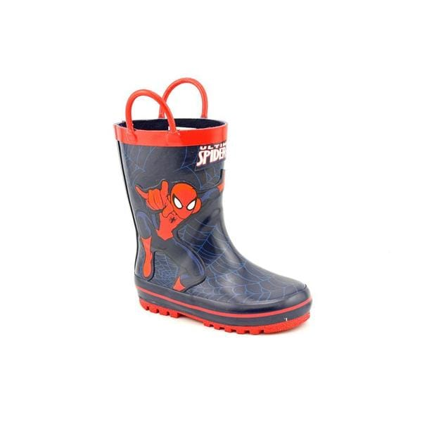 Marvel Heroes Boy (Toddler) 'Marvel Ultimate Spider-Man Rainboots' Synthetic Boots