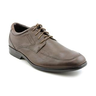 Rockport Men's 'Business Lite Moc Toe' Full-Grain Leather Dress Shoes - Wide