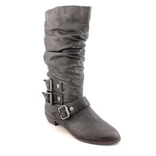 Material Girl Women's 'Elation' Faux Leather Boots