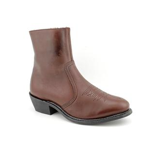 Leather Classics Men's '1192' Leather Boots - Wide