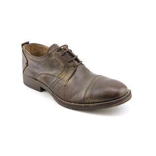 Steve Madden Men's 'Gunza' Leather Casual Shoes