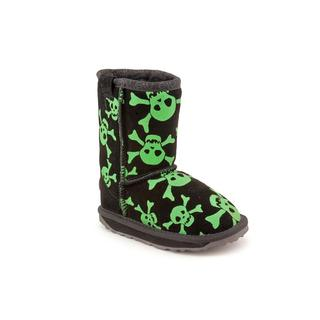 Emu Australia Boy (Toddler) 'Crossbone' Regular Suede Boots