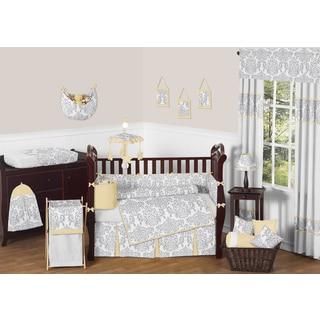 Sweet Jojo Designs Purple Dragonfly 9 Piece Crib Bedding