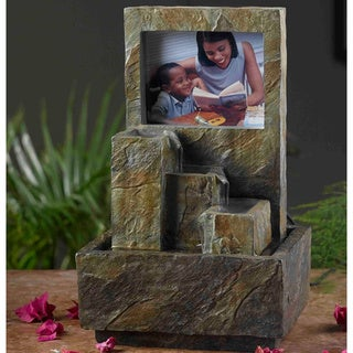 Photo Frame Tabletop Water Fountain
