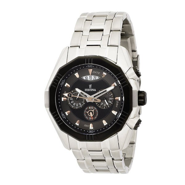 Festina Men's Le Tour de France Black Chronograph Watch