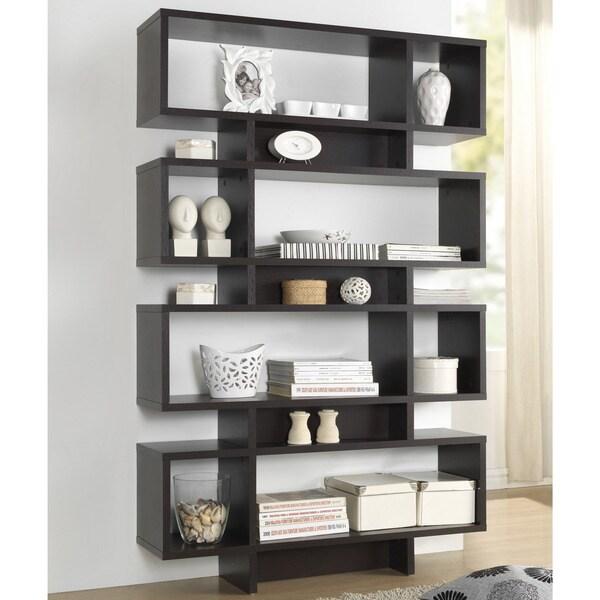 baxton studio ronan dark brown espresso modern storage. Black Bedroom Furniture Sets. Home Design Ideas