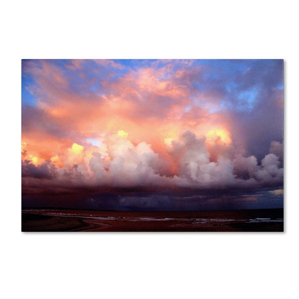 Beata Czyzowska Young 'An Evening to Remember' Canvas Art