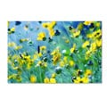 Beata Czyzowska Young 'Flower Power' Canvas Art