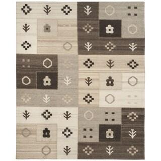 Safavieh Hand-woven Kenya Natural Wool Rug (8' x 10')