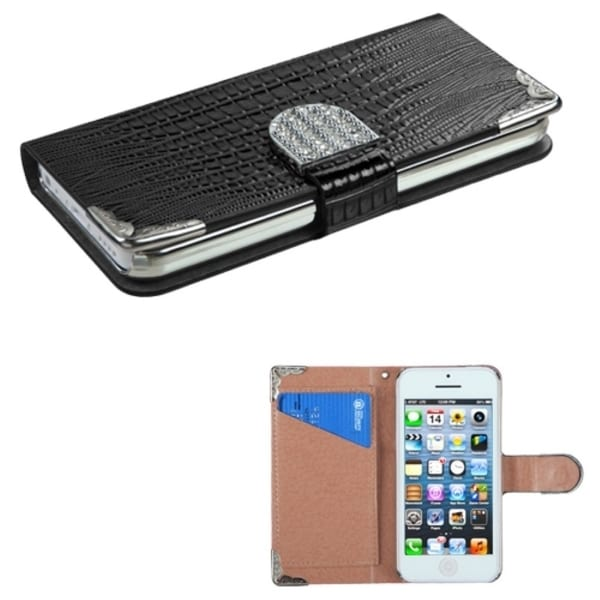 INSTEN Wallet Phone Case Cover for Apple iPhone 5C