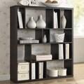 Baxton Studio Declan Dark Brown/ Espresso Modern Storage Shelf