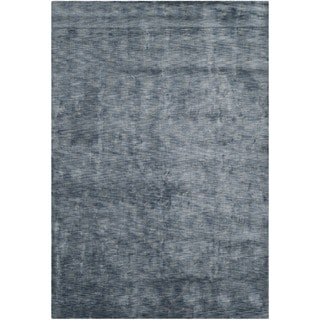 Safavieh Hand-loomed Mirage Blue Viscose Rug (6' x 9')