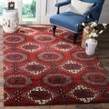 Safavieh Handmade Wyndham Red Wool Rug (4' x 6')