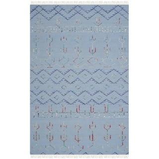 Safavieh Hand-knotted Safari Multicolored Wool Rug (4' x 6')
