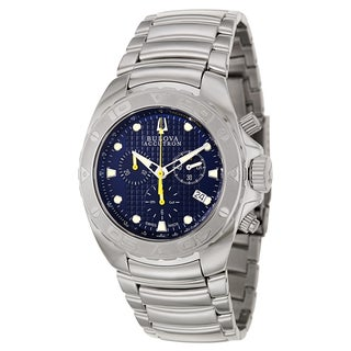 Bulova Accutron Men's 'Curacao' Stainless Steel Chronograph Tachymeter Watch