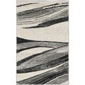 Safavieh Retro Light Grey/ Ivory Rug (2'6 x 4')