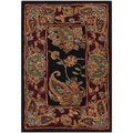 Safavieh Handmade Traditions Black Wool Rug (2' x 3')