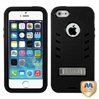 BasAcc TUFF eNUFF Stand Case for Apple iPhone 5/ 5S
