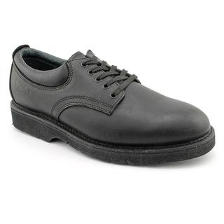 Work America Men's 'Oxford Responder' Leather Casual Shoes - Narrow