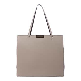 Stella McCartney 'Beckett' Small Sand Beige Structured Tote